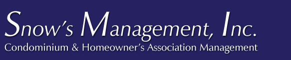 Snow's Management, Inc.