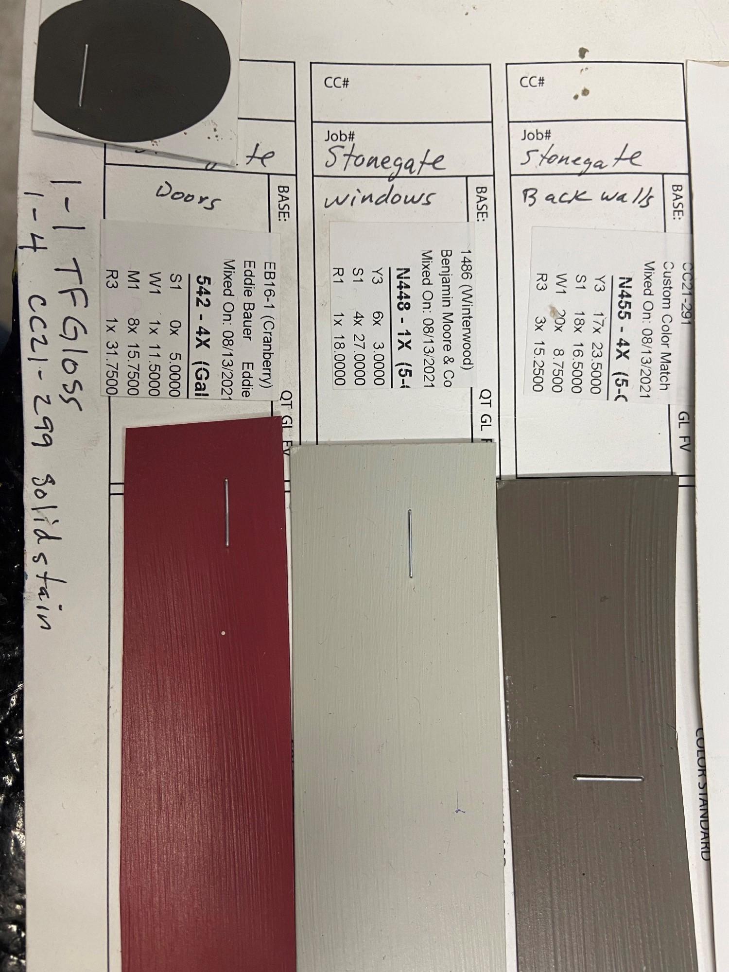 SGC Paint Colors